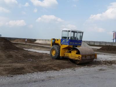Výstavba parkoviska Empark Trnava