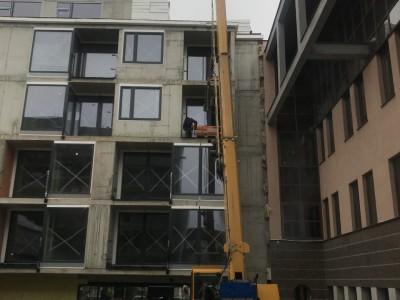 Zasklievanie budovy na ul. Paulinska v Trnave